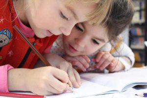 young kids at school learning problems and vision free consult